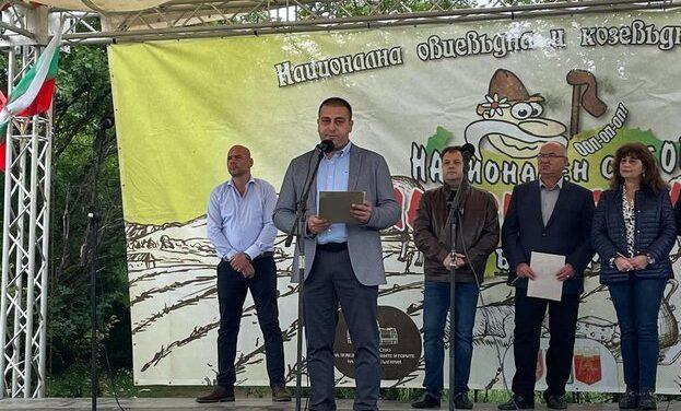 """Цел: Сектор """"Животновъдство"""" да се развива с по-добри резултати-зам.мин. Недялков пред Националния събор на животновъдите,21г."""