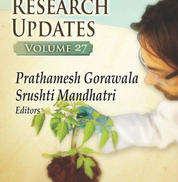 Аgricultural Research Updates /volume 27/ включва изследване на български учени за агроекосистемите у нас